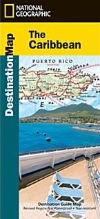 Caribbean Destination Road Map.