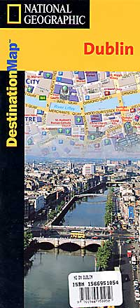 "DUBLIN ""Destination"" map Ireland."