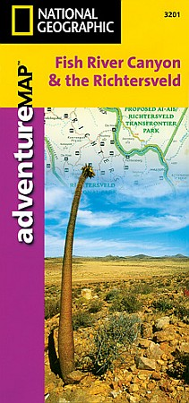 Fish River Canyon & the Richtersveld Adventure Map, Namibia.
