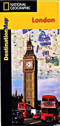 "LONDON ""Destination"" map England, United Kingdom."