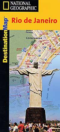 """RIO DE JANEIRO """"Destination"""" map Brazil."""