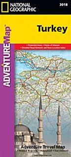 Turkey Adventure Road Map.