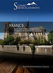 France Paris, The Seine, Les Tuileries, Opera Sacre-Coeur, The Louvre -  Travel Video.