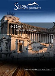 Rome Piazzas and Foiuntains- Travel Video.