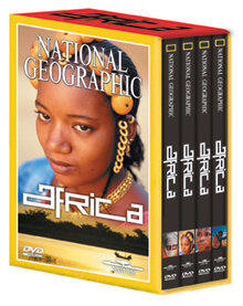 """National Geographic: """"AFRICA"""" - Travel Video - DVD."""