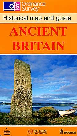 Ancient Britain, Historic Map.