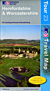 Herefordshire and Worcestershire Touring Maps.