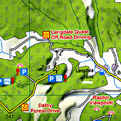 North York Moors Touring Maps.