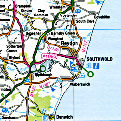 South East England #8 Regional Road Map.