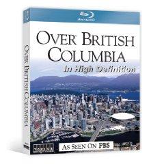 Over British Columbia - Travel Video.