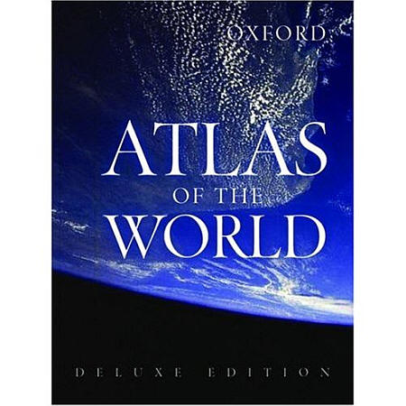 "Oxford ""Atlas of the World"" Deluxe Edition."