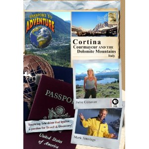 Cortina, Courmayeur and the Dolomite Mountains Italy - Travel Video - DVD.