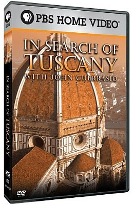 In Search Of Tuscany, With John Guerrasio - Travel Video - DVD.