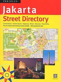 JAKARTA Street ATLAS, Java, Indonesia.