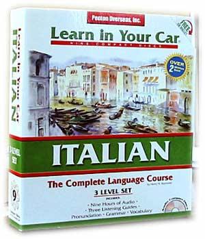 Learn Italian In Your Car! Audio CD Language Course.