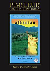 Pimsleur Albanian Basic Audio CD Language Course.