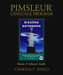 Pimsleur Brazilian Portuguese Comprehensive Audio CD Language Course, Level 2.
