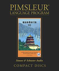 Pimsleur Chinese (Mandarin) Comprehensive Audio CD Language Course, Level 3.