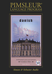 Pimsleur Danish Basic Audio CD Language Course.