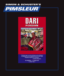 Pimsleur Dari Comprehensive Audio CD Language Course.