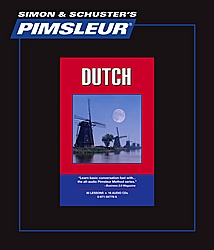 Pimsleur Dutch Comprehensive Audio CD Language Course.