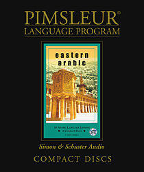 Pimsleur Arabic (Eastern) Comprehensive Audio CD Language Course.
