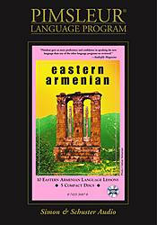 Pimsleur Eastern Armenian Basic Audio CD Language Course.