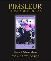 Pimsleur English For German Speakers, Audio CD Language Course.
