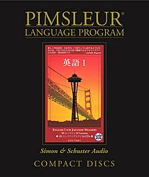Pimsleur English For Japanese, Level 1 Speakers, Audio CD Language Course.