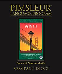 Pimsleur English For Japanese, Level 3 Speakers, Audio CD Language Course.