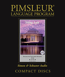Pimsleur English For Vietnamese Speakers, Audio CD Language Course.