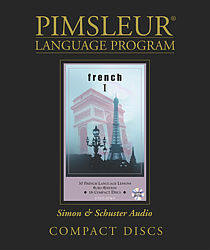 Pimsleur French Comprehensive Audio CD Language Course, Level 1.