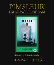 Pimsleur French Language Comprehensive Audio CD Language Course, Level 2.