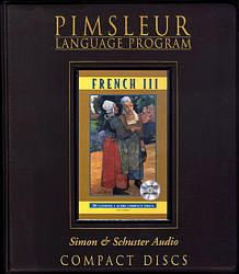 Pimsleur French Comprehensive Audio CD Language Course, Level 3.