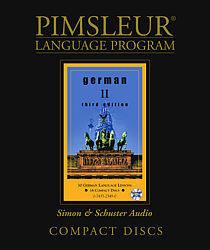 Pimsleur German Comprehensive Audio CD Language Course, Level 2.