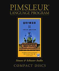 Pimsleur German Comprehensive Audio CD Language Course, Level 2.