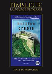 Pimsleur Haitian Creole Audio CD Language Course.