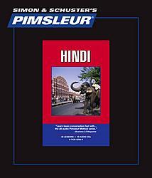 Pimsleur Hindi Comprehensive Audio CD Language Course, Level 1.