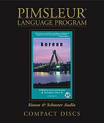 Pimsleur Korean Comprehensive Audio CD Language Course.
