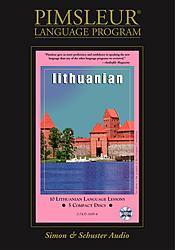 Pimsleur Lithuanian Basic Audio CD Language Course.