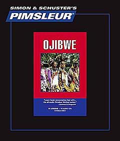 Pimsleur Chippewa (Ojibwe) Comprehensive Audio CD Language Course.