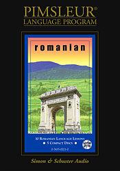 Pimsleur Romanian Basic Audio CD Language Course.