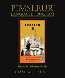 Pimsleur Russian Comprehensive Audio CD Language Course, Level 3.
