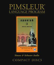 Pimsleur Spanish Comprehensive Audio CD Language Course, Level 2.