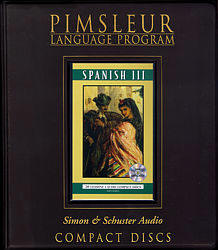 Pimsleur Spanish Comprehensive Audio CD Language Course, Level 3.