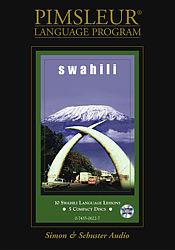 Pimsleur Swahili Basic Audio CD Language Course.