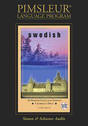 Pimsleur Swedish Basic Audio CD Language Course.
