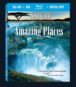 Amazing Places: Africa - Nature Video - Blu-ray DVD.