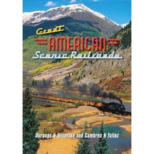 Great American Scenic Railroads: Durango & Silverton & Cumbres & Toltec - Railroad Video.