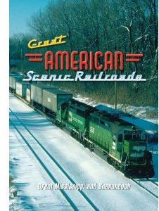 Great American Scenic Railroads: Great Mississippi and Shenandoah - Railroad Video.